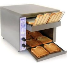 Belleco JT1-H Electric Countertop Conveyor Toaster 2-1/2 Inch Clearance