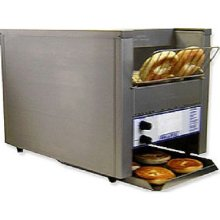 Belleco JT2-B Electric Countertop Bagel Conveyor Toaster