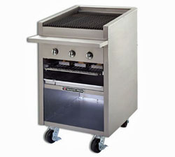 Bakers Pride Floor Model Gas Charbroiler  F-24R