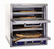Bakers Pride Double Deck Electric Countertop Pizza Oven - P44S