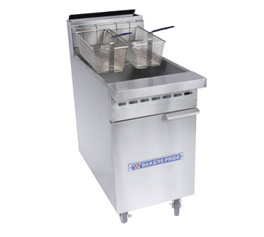 Bakers Pride Fryer BPF-6575, 65-75 Lbs Capacity