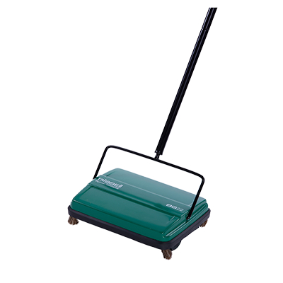 BISSELL BG22 Commercial Manual Floor Sweeper, Wet & Dry Surfaces