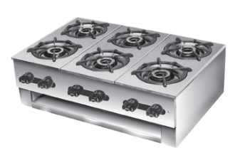 Castle 1093 Six Burner Hot Plate