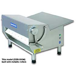 Somerset CDR-500M Dough Sheeter - Metallic Rollers, Single Pass