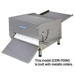 Somerset CDR-700M Dough Sheeter - Metallic Rollers,Single Pass