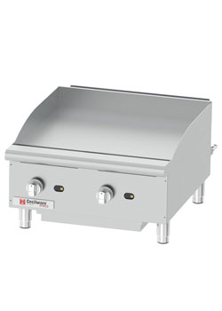 Grindmaster-Cecilware GCP24 Pro Countertop Gas Griddle, 24 Inch
