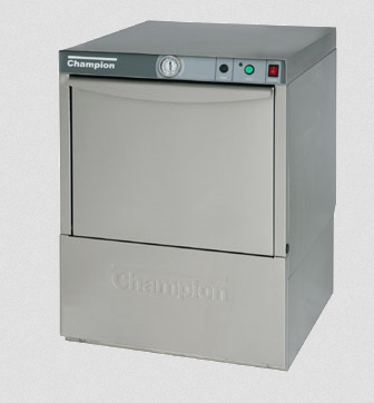 Champion Undercounter Dishwasher - 21 Racks/Hour Capacity - UL-100