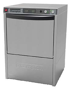 Champion UH-330B Undercounter Dishwasher, Booster Heater, Dry Assist