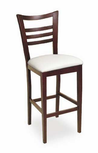 Florida Seating Bar Stool CN-200B-GR1-WHITE-WAL
