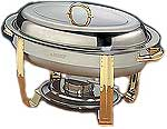 6 Quart Oval Chafer - DC-3