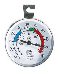 Comark Refrigerated Drawer Stick-on Thermometer UTL80