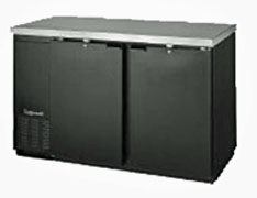 Continental Back Bar Cooler - 59 Inches