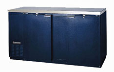 Continental Back Bar Cooler - 69 Inches