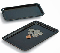 Plastic Tip Tray, Black