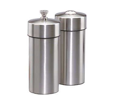 Futura Salt & Pepper Mill Set, Stainless Steel