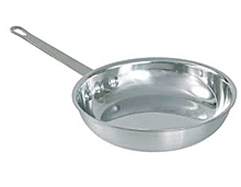 Polished Aluminum Fry Pans
