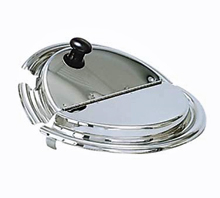 7 Quart Vegetable Inset Hinged Lid