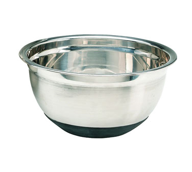 Crestware Commercial Non-Skid Stainless Steel Bowl