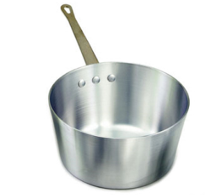 Tapered Aluminum Sauce Pan