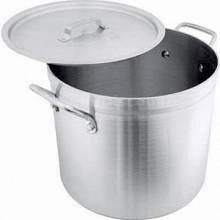 Alum Stock Pot with Lid 24 Quart