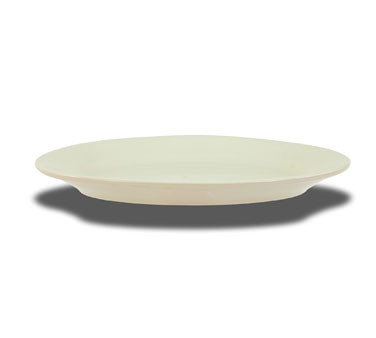 CrestWare Dover White Wide Rim Oval Platters One Dozen