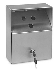 Outdoor Stainless Steel Ashtray - Small