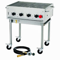 Crown Verity Stackable Portable Grill - 30 Inch