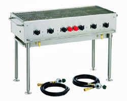 Crown Verity Stackable Portable Grill - 48 Inch