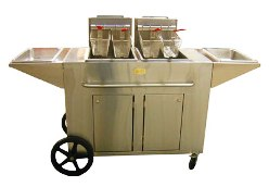 Crown Verity Portable Outdoor Fryer