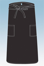 Chefworks Two Pocket Bistro Apron