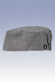 Chef Works Small Check Beanie Cap BNSC