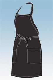 Chefworks Two Patch Pocket Apron