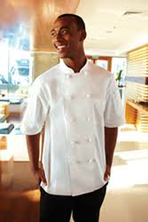 Tivoli Basic Short-Sleeve Chef Coat
