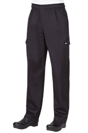 Chef Works Cargo Chef Pants, Classic Fit