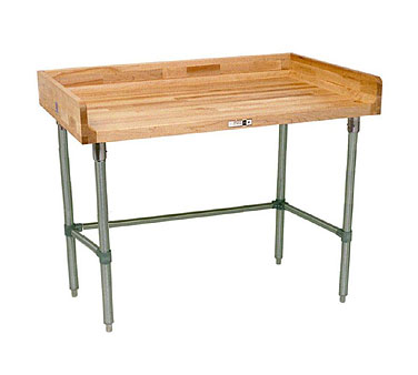 John Boos Worktable with Wood Top DNB17