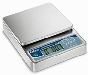 Edlund Digital Portion Scale WSC-10, 10 lbs. x 0.1 oz., Oversized Platform