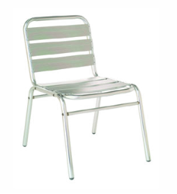 Emu 1000 Flora Solid Stacking Side Chair, Set of 4