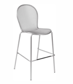 EMU Ronda Indoor/Outdoor Stacking Barstool,  Style 128, Set of 2