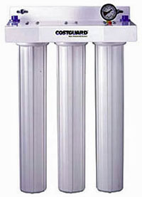 Everpure Costguard GCS-55 Triple Parallel Value Filtration System