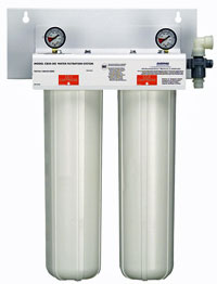 Everpure CB20-302E Twin Water Filtration System