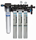 Everpure Insurice 4000 Triple Water Filter System With Sediment Prefilter