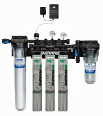 Everpure High Flow Triple Water Filter System With Low Pressure Alarm
