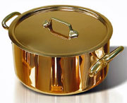 de Buyer  Copper Stewpan - 6.3 Quart