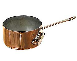 Eurodib .3 Qt. De Buyer Copper Sauce Pan