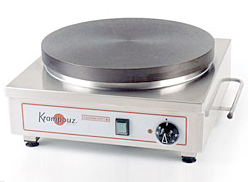 Eurodib Krampouz 16 Inch Electric Crepe Griddle CECIF4
