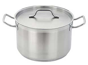 Eurodib 19-3/4 Inch, 61.4 Quart  Stainless Sauce Pot