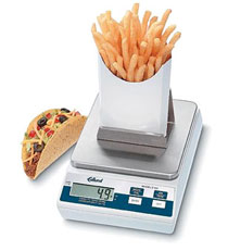 Edlund Digital Portion French Fry Scale