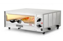 Fusion Commercial Premium Electric Countertop Pizza and Snack Oven 508FCG With Glass Door - 1024213