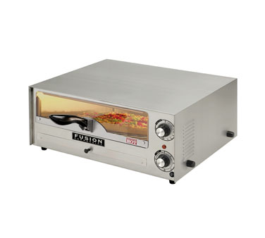 Fusion Commercial Premium Electric Countertop Pizza and Snack Oven 515FCG, 16 Inch With Glass Door