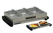 Fusion Triple Buffet Food Server And Warmer
